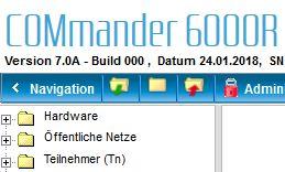 Auerswald COMmander 6000R mit Firmware 7.0a