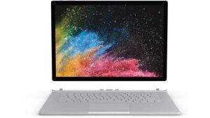 neue Produkte im Lieferprogramm - die Microsoft Surface Geräte - hier Microsoft Surface Book 2
