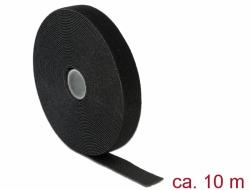 Neue Produkte bis März 2018 - Delock Kabelklett schwarz